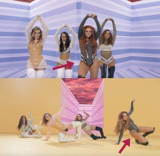 リトル・ミックス タッチ MV  修正 批判 Little Mix Touch Photoshop Fail
