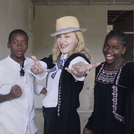 マドンナ 養子 Madonna デイヴィッド マーシー 現在 2016