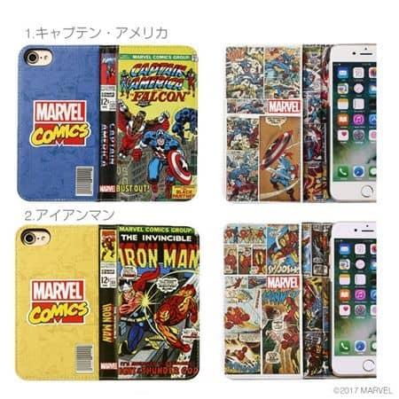 マーベル スマホケース アイアンマン Marvel  Ironman Captain America