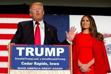 メラニア・トランプ Melania Trump ドナルド・トランプ Donald Trump