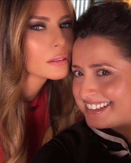 メラニア・トランプ Melania Trump 専属メイクアップアーティスト ニコール・ブリル