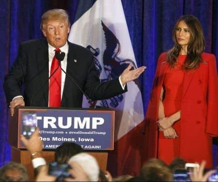 ドナルド・トランプ メラニア・トランプ Donald Trump Melania Trump