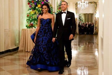 バラク・オバマ ミシェル・オバマ ファーストレディー ファッション