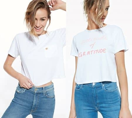 ミランダ・カー Mother  デニム Miranda Kerr  Denim コレクション Tシャツ
