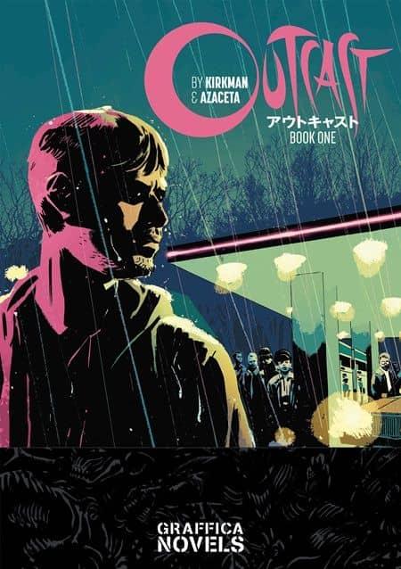 アウトキャスト コミック ウォーキング・デッド ロバート・カークマン Outcast comic The Walking Dead Robert Kirkman