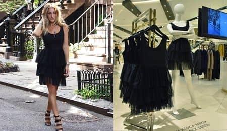 セックス・アンド・ザ・シティ Sex and the City サラ・ジェシカ・パーカー SJP Collection ドレス ブラック