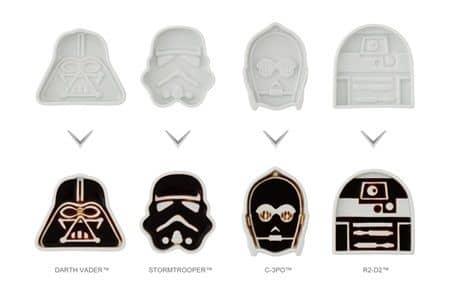 スター・ウォーズ 醤油皿 ダース・ベイダー ストームトルーパー Star Wars Plate Dish Darth Vader Stormtrooper C-3PO R2-D2