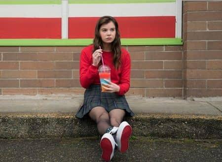 スウィート17モンスター ヘイリー・スタインフェルド 映画 Edge of seventeen Hailee Steinfeld Sweet 17 Monster Movie