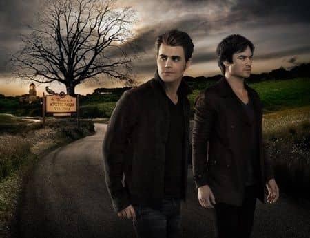 ヴァンパイア・ダイアリーズ イアン・サマーホルダー ポール・ウェズレイ ドラマ The Vampire Diaries Ian Somerhalder Paul Wesley