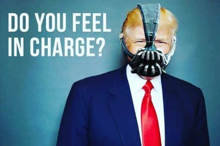 ドナルド・トランプ ベイン Donald Trump Bane Dark Knight Rising