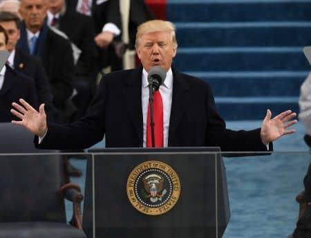 ドナルド・トランプ 就任演説 Donald Trump Inauguration
