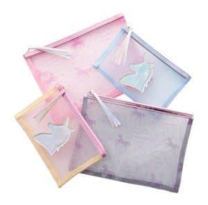ユニコーン モチーフ グッズ ポーチ Unicorn PLAZA MiNiPLA makeup bag