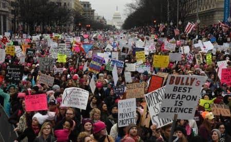 女性のマーチ Women's March ワシントン