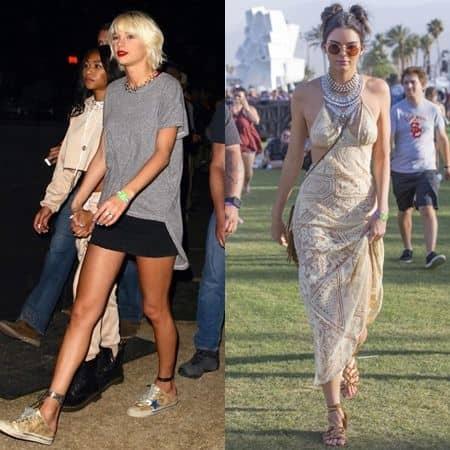 テイラー・スウィフト Taylor Swift ケンダル・ジェナー Kendall Jenner コーチェラ  Coachella セレブ 毎年参加 人気フェス フェス