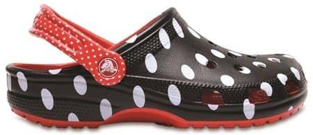 クロックス crocs ディズニー コラボ ミニーマウス ポルカドット 可愛い 世界で数量限定発売 各150足