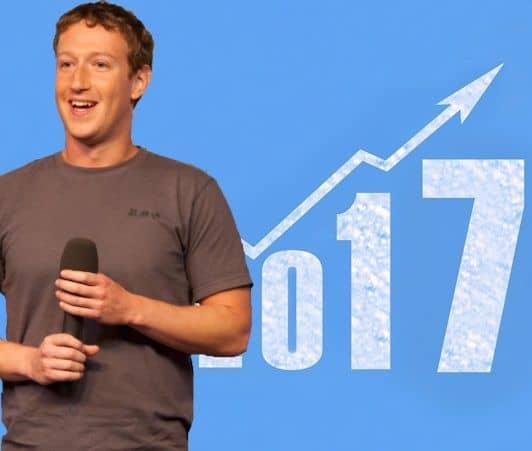 マーク・ザッカーバーグ Mark Zuckerberg フェイスブックCEO 2017年株価アップ