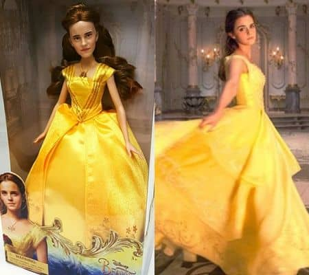 エマ・ワトソン Emma Watson ジャスティン・ビーバー Justin Bieber 美女と野獣 映画 人形 似てない ベル