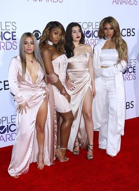 フィフスハーモニー Fifth Harmony ピープルズ・チョイス・アワード people's Choice Awards 2017 レッドカーペット ドレス 豪華 受賞者 プレゼンター