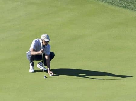 バラク・オバマ Barack Obama  バケーション 休暇 旅行 パームスプリングス ゴルフ 一人 リラックス