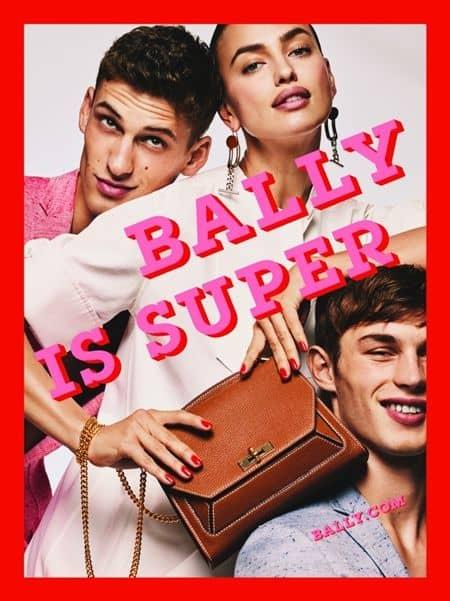 バリー Bally イリーナ・シェイク Irina Shayk 広告 キャンペーン モデル 2017年春夏 80年代 メイク ファッション かわいい セレブ 海外