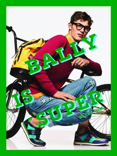 バリー Bally イリーナ・シェイク Irina Shayk 広告 キャンペーン モデル 2017年春夏 80年代 メイク ファッション かわいい セレブ 海外 メンズモデル 新人