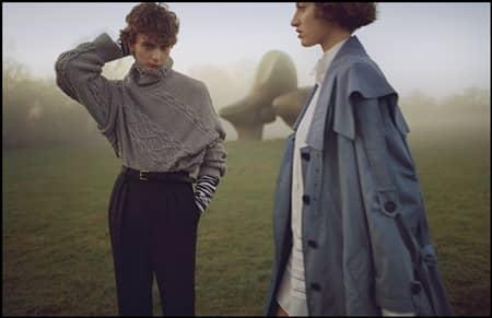 バーバリー Burberry おしゃれ ファッション 新作 プレオーダー コレクション イギリス人モデル ロンドンファッションウィーク
