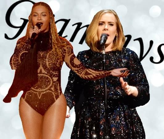 第59回グラミー賞 2017 Grammys  ビヨンセ アデル Beyonce Adele