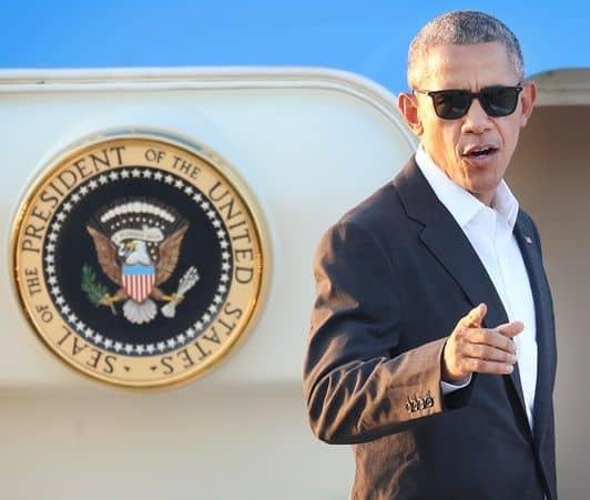 バラク・オバマ大統領 エアフォースワン