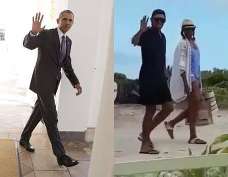 バラク・オバマ元大統領 バケーション イギリス領バージン諸島