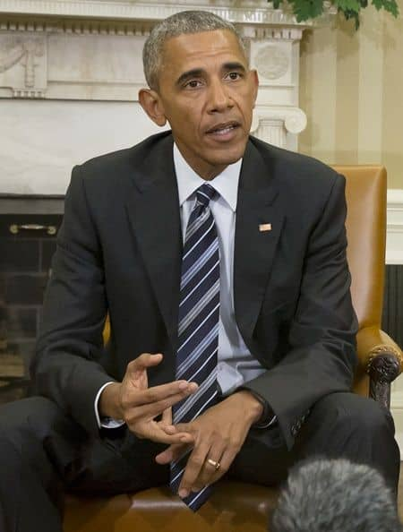 バラク・オバマ大統領 ホワイトハウス 大統領執務室 会談
