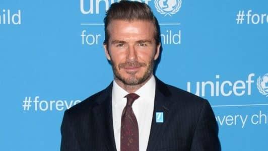デヴィッド・ベッカム ユニセフ70周年イベント UNICEF's 70th Anniversary Event