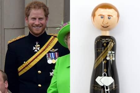英国王室ペン ロイヤル・ファミリー文具 Paperchase Royal Family Pen ハリー王子