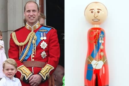 英国王室ペン ロイヤル・ファミリー文具 Paperchase Royal Family Pen ウィリアム王子