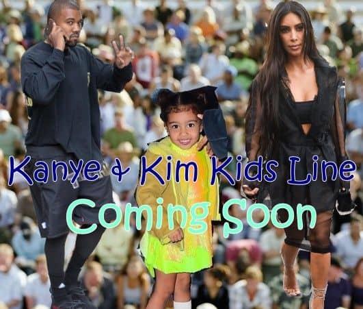 キム・カーダシアン Kim kardashian カニエ・ウェスト  Kanye West アパレル キッズライン 近日公開 ノース・ウェスト North West 娘 デザイン モデル 注目 黄色 近日公開