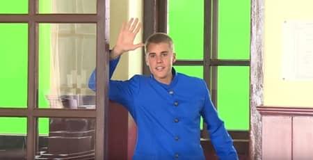 ジャスティン・ビーバー Justin Bieber 極秘来日 ソフトバンク CM撮影 青の学ラン ダブダンス ピコ太郎 PPAP 学校
