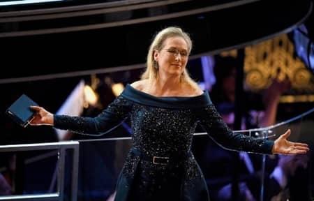 メリル・ストリープ Meryl Streep カール・ラガーフェルド Karl Lagerfeld 第89回アカデミー賞 オスカー ドレス バトル 非難 オスカー女優
