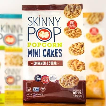 SkinnyPop スキニーポップ ポップコーン・ケーキ Popcorn Cake 商品写真