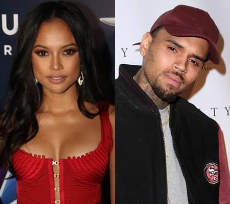 カルーシェ・トラン クリス・ブラウン 元恋人 DV  接近禁止命令 Karrueche Tran Chris Brown Ex Model Singer Restraining Order
