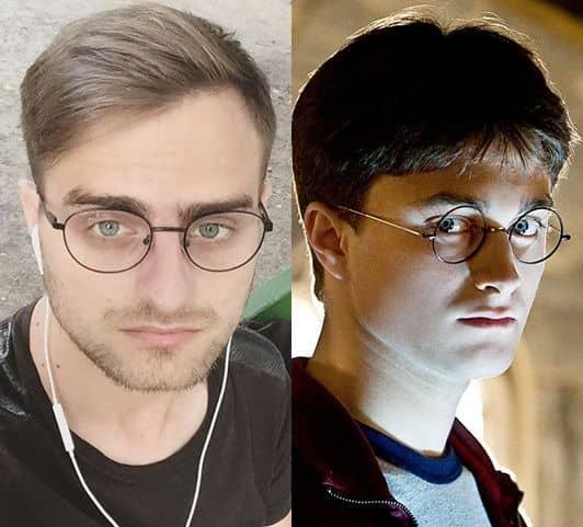 ハリー・ポッター ダニエル・ラドクリフ そっくり ニコライ・ポスレド ロシア 映画 Harry Potter Nikolay Posled Daniel Radcliffe Movie Lookalike