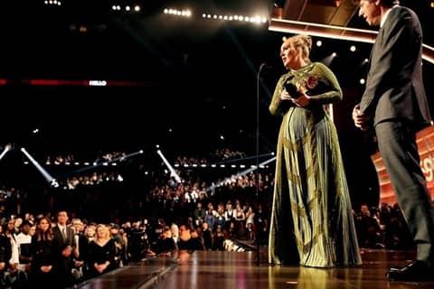 アデル グラミー賞 授賞式 Adele Grammy Awards