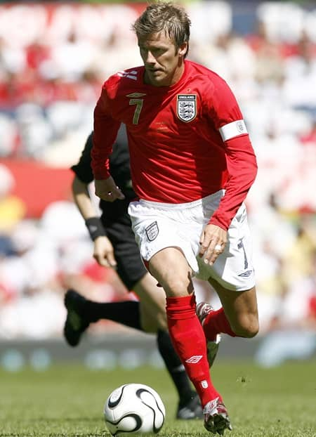 デヴィッド・ベッカム イングランド サッカー David Beckham Football Soccor Player England Manchester United
