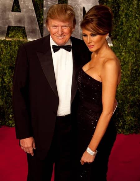 ドナルド・トランプ大統領 メラニア・トランプ オスカー アカデミー賞 アフターパーティ Oscar Academy Awards After Party Vanity Fair Donald Trump