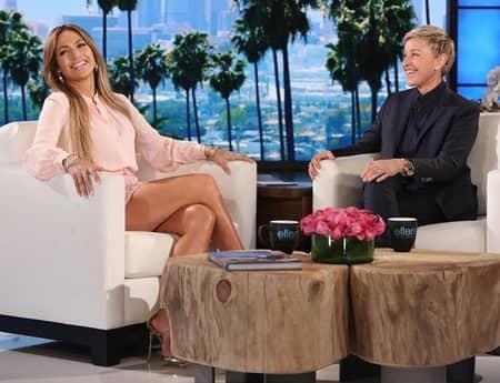 ジェニファー・ロペス エレン・デジェネレス エレンの部屋 トーク Jennifer Lopez Ellen Degeneres Talk The Ellen Show