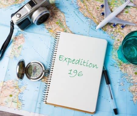 世界地図 計画 Expedition196