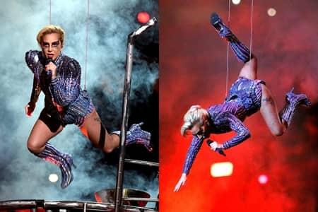 レディー・ガガ スーパーボウル Lady Gaga Superbowl 2017 ハーフタイムショー パフォーマンス