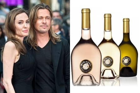 アンジェリーナ・ジョリー Angelina Jollie  ブラッド・ピット Brad Pitt ワイン シャトー・ミラヴァル