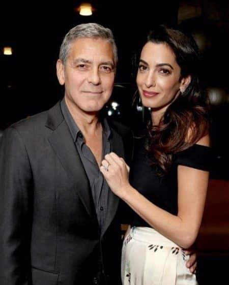 ジョージ・クルーニー George Clooney アマル・クルーニー Amal Clooney