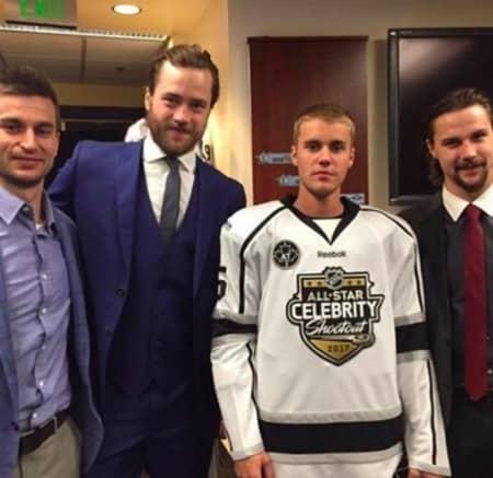 ジャスティン・ビーバー Justin Bieber NHL ALL Star Match アイスホッケー