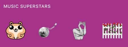 ケイティ・ペリー 新曲 チェーン・トゥ・ザ・リズム ステッカー Katy Perrry Sticker