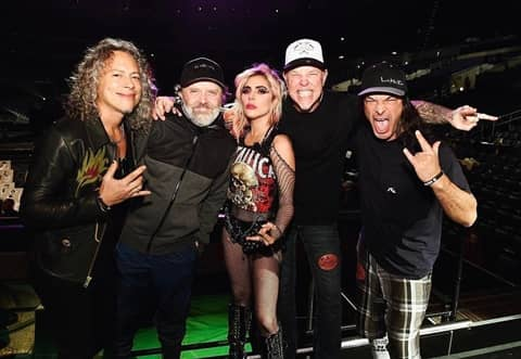 メタリカ レディー・ガガ グラミー賞 Metallica Lady Gaga Grammy Awards